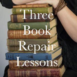 Book Repair Lessons