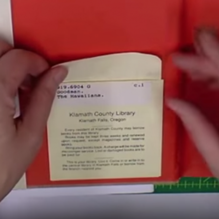 8-204: Remove a Modern Library Pocket ~ $0.99
