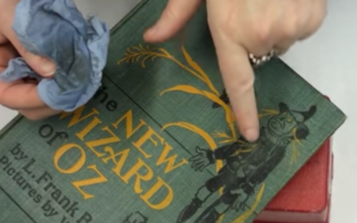 1-103:  Clean a Book Cover with a Damp Cloth ~ $0.99