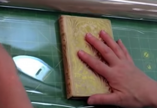 """6-101:  Create a """"Mylar"""" Cover for a Book with Weak Hinges ~ $0.99"""