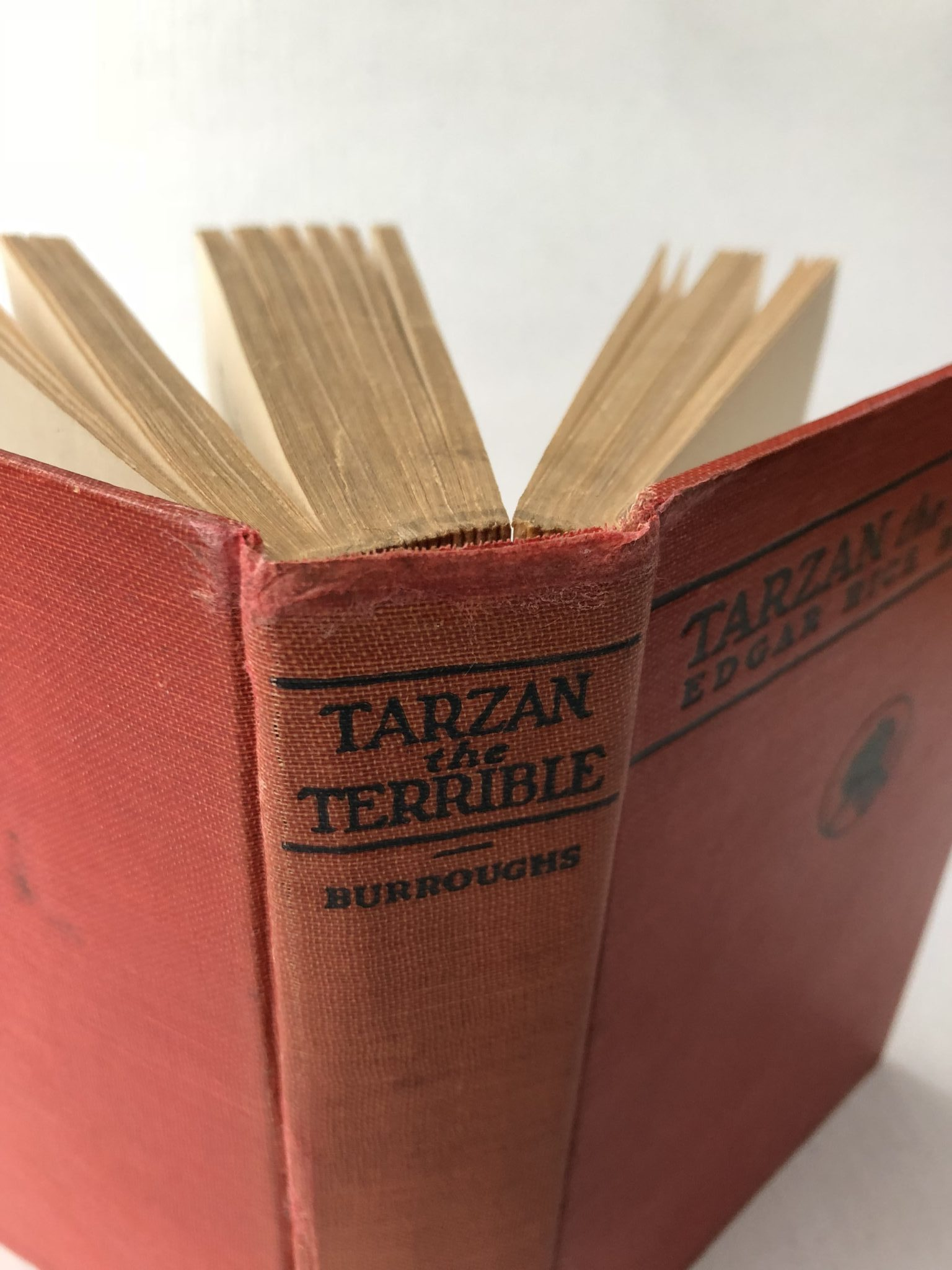 2-108b: Repair a Frayed Book Spine Head and Tail ~ $9.99