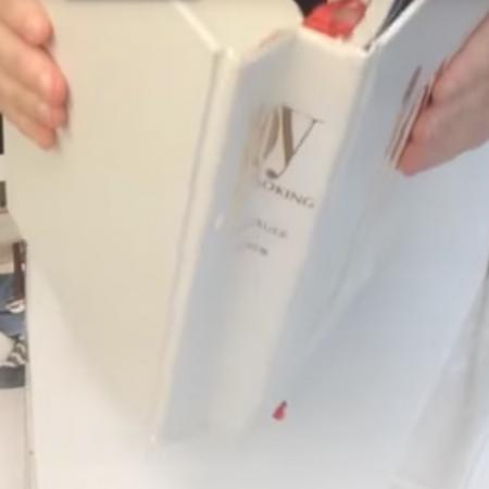 2-105a: Improve a Crumpled Book Spine ~ Free