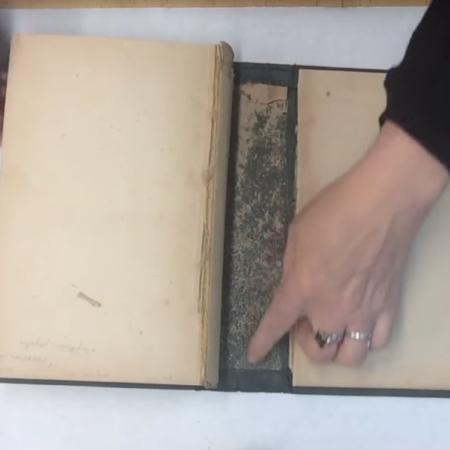 2-204: Re-case a 19th century Cloth-bound Book ~ $19.99