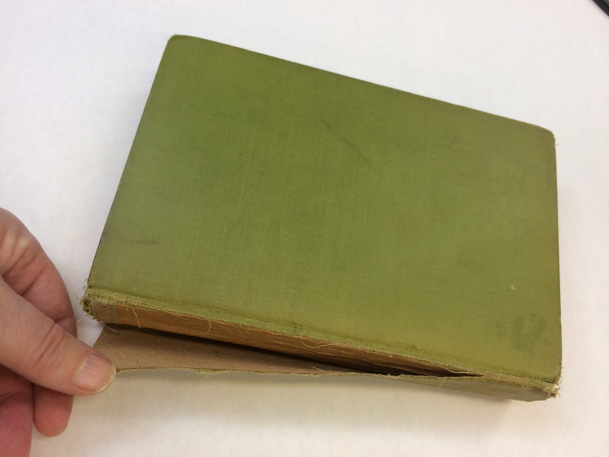 How to Reattach/ Preserve Loose Book Spines