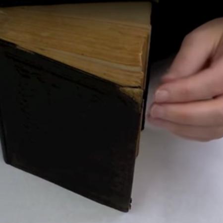 2-104a: Repair a Damaged Book Corner