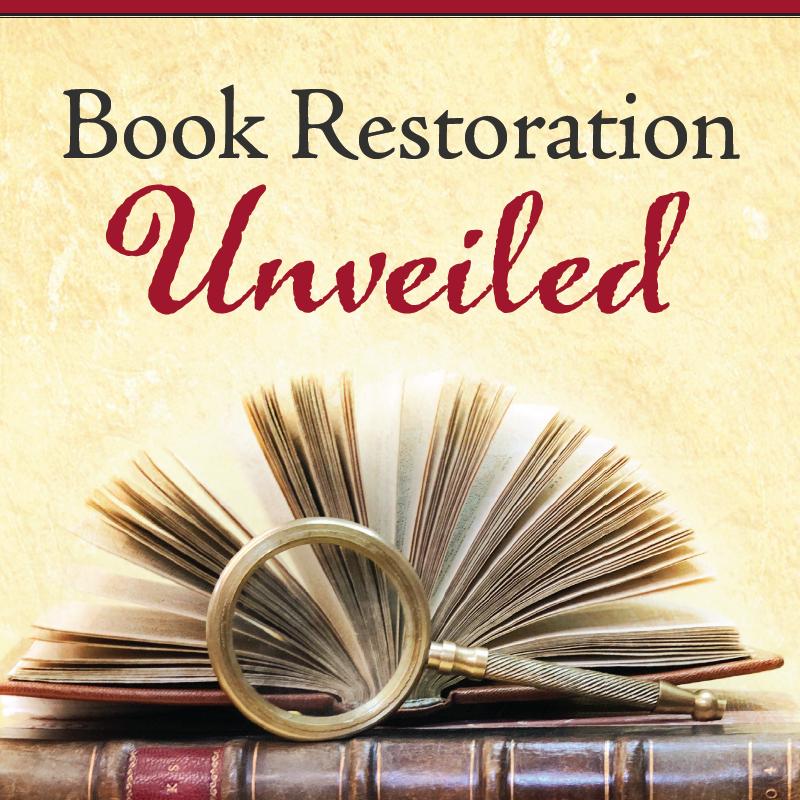 Book Restoration Unveiled