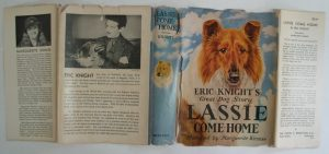 dust jacket restoration lassie