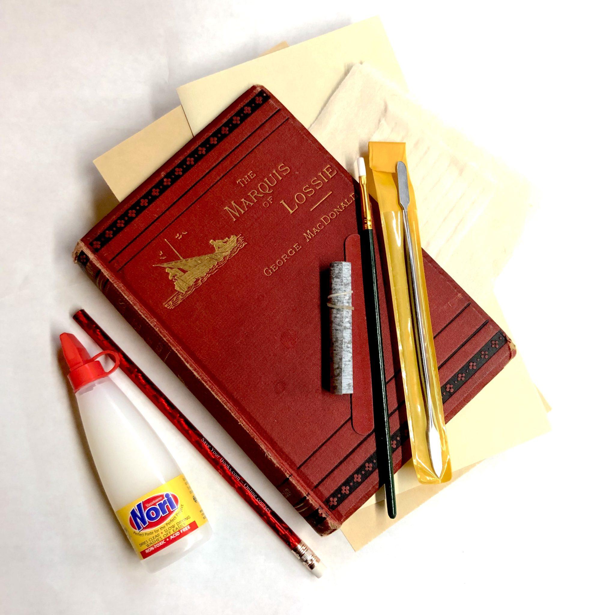 starter book repair kit