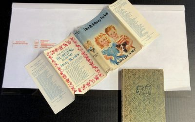 6-100: Protect a Dust Jacket with a Cover ~ Free!